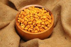 Fruit sec de maïs Photographie stock