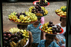 Fruit seller Royalty Free Stock Photography