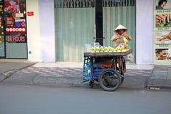 Fruit seller Royalty Free Stock Photos