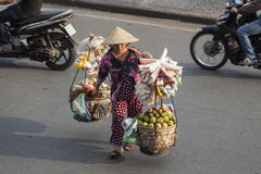 Fruit seller Royalty Free Stock Image