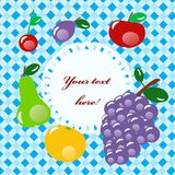 Fruit set Royalty Free Stock Images