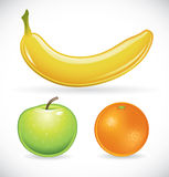 Fruit set Royalty Free Stock Photos