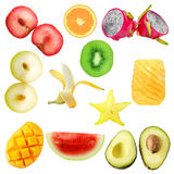 Fruit Set Royalty Free Stock Photo