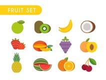 Fruit set Royalty Free Stock Image