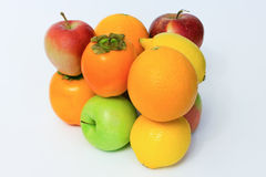 Fruit set isolated Royalty Free Stock Photos
