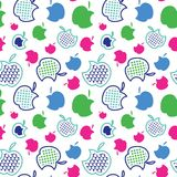 Fruit set pattern , nature fruit background. Fruit set pattern nature fruit background Stock Images