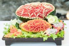 Fruit setup for wedding Royalty Free Stock Photos