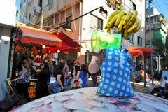 Fruit shake in Shenkin street Tel Aviv Royalty Free Stock Images