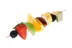 Fruit shiskabob Royalty Free Stock Photos