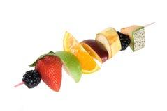 Fruit shiskabob Royalty-vrije Stock Foto's