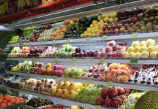 Fruit shop. In amoy city,china Royalty Free Stock Photo