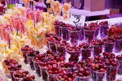 Fruit Shop Stock Photo