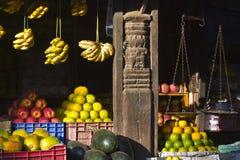 Fruit shop in Kathmandu, Nepal Royalty Free Stock Photo