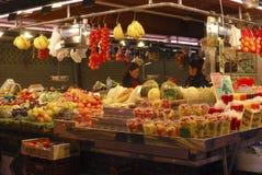 Fruit shop in market. Barcelona. Spain Stock Photography