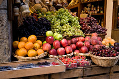 Fruit Shop in Siena royalty free stock photo