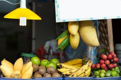 Fruit shop stall Royalty Free Stock Image