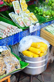 Fruit shop on Street Market Royalty Free Stock Photography