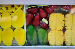 Fruit shop on Street Market Royalty Free Stock Images