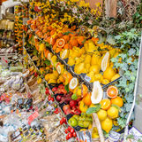 Fruit shop in Taormina in Sicily, Italy Royalty Free Stock Images