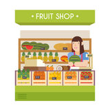 Fruit shop Royalty Free Stock Images