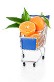 Fruit shopping Stock Images