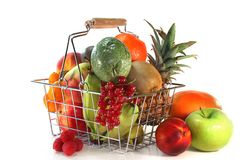 Fruit shopping Royalty Free Stock Image