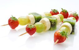 Fruit skewers Royalty Free Stock Image