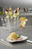 Fruit Skewers - Food Chemistry Series Stock Photo