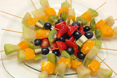 Fruit Skewers Royalty Free Stock Photo