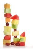 Fruit slice variety Stock Photos