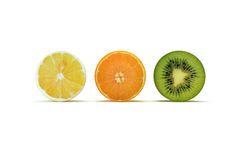 Fruit sliced concept Stock Photography