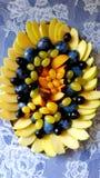 Fruit sliced stock images