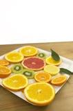 Fruit slices Royalty Free Stock Image