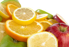 Fruit slices Stock Image