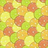fruit slices background stock illustration