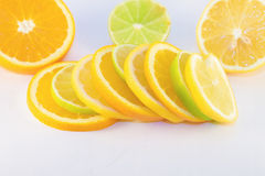 Fruit slices Royalty Free Stock Images