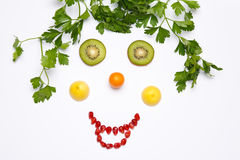 Fruit a smile Royalty Free Stock Photography
