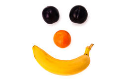 Fruit smile Stock Images