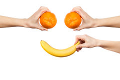 Fruit smile Royalty Free Stock Image
