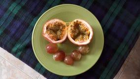 Fruit smile stock photo