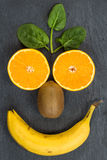 Fruit smiley Royalty Free Stock Photo