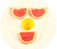 Fruit Smiling Face Royalty Free Stock Photo
