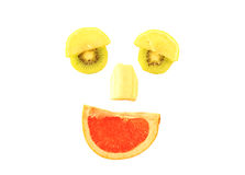 Fruit Smiling Face Royalty Free Stock Photos