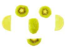 Fruit Smiling Face Stock Photo