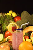 Fruit Smoothie Stock Foto's