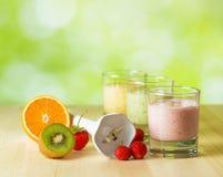 Fruit smoothie stock afbeelding