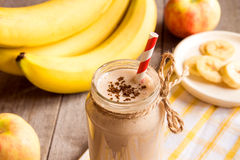 Fruit smoothie with cinnamon Stock Photography