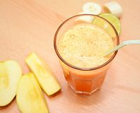 Fruit Smoothie in a glass Royalty Free Stock Photos