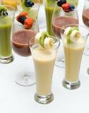 Fruit Smoothies. Stock Photos
