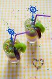 Fruit smoothies Royalty-vrije Stock Foto's